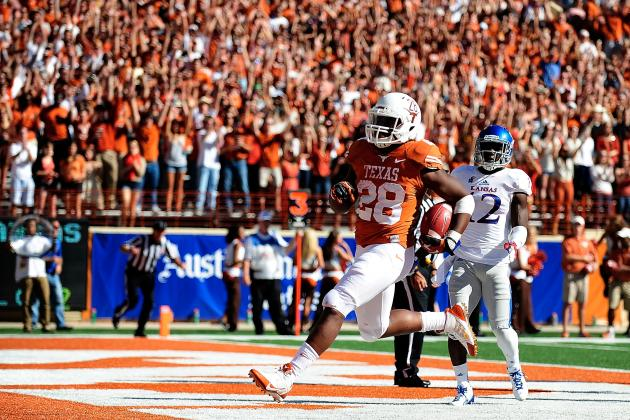 Oklahoma State vs. Texas: TV Info, Spread, Injury Updates, Game Time and More