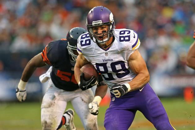 How the Minnesota Vikings Can Make Up for Loss of Kyle Rudolph