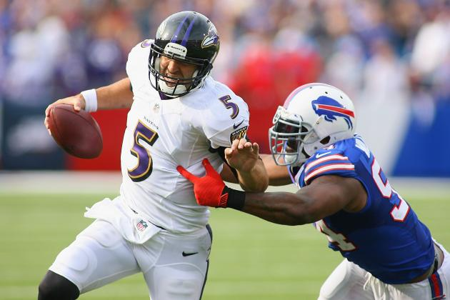 Why Joe Flacco Is NFL's Most-Blitzed QB