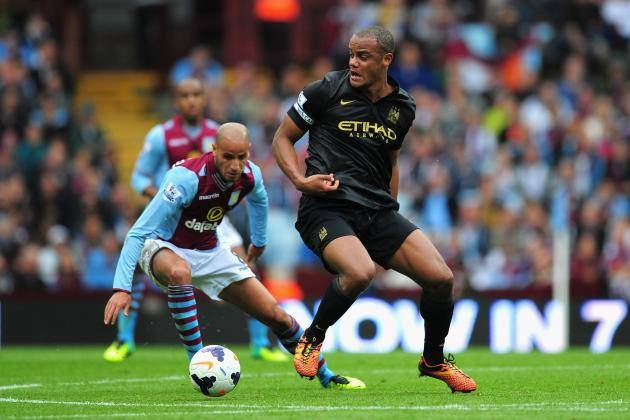 Vincent Kompany's Injury a Blow for Manchester City