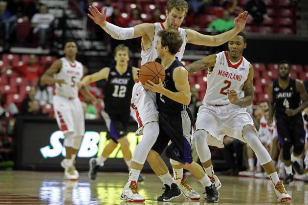 Maryland Storms Past Abilene Christian 67-44