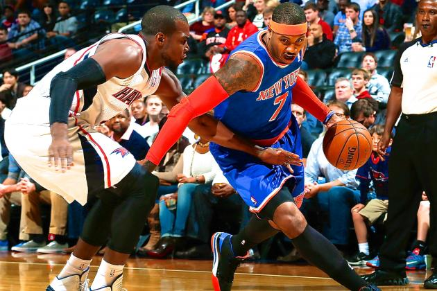 New York Knicks vs. Atlanta Hawks: Live Score, Highlights and Analysis
