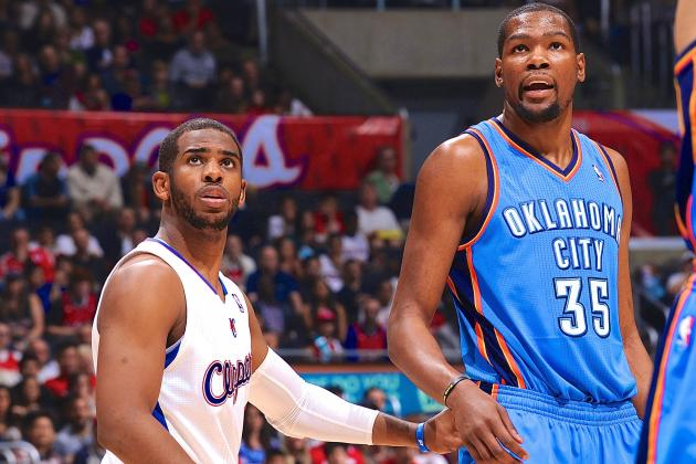 Does Chris Paul or Kevin Durant Have Better Chance to Beat LeBron James for MVP?