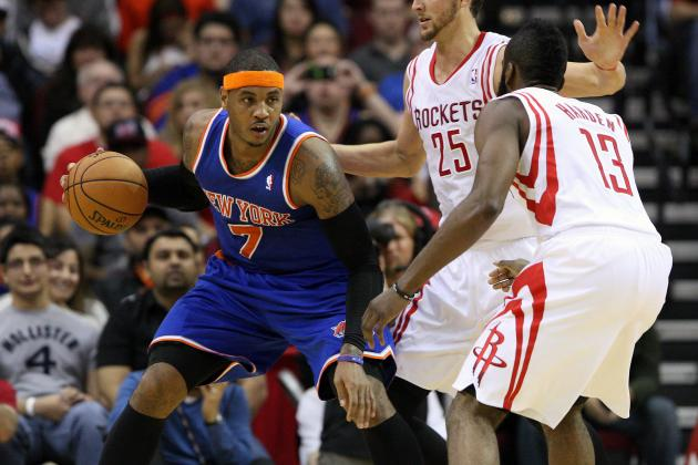 New York Knicks and Houston Rockets Will Meet While Searching for Identities