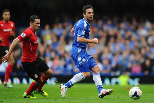 Frank Lampard Fit and Confirmed as England Captain for Chile Friendly Match