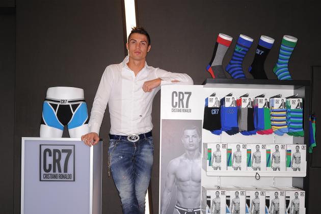 Cristiano Ronaldo: Gareth Bale Likes My New Underwear