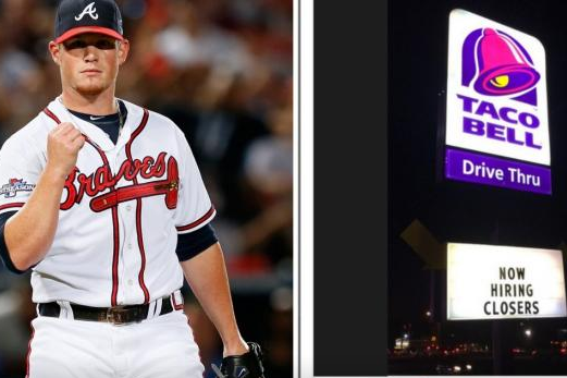 Atlanta Braves' Closer Craig Kimbrel Ponders Taco Bell Job in Hilarious Tweet