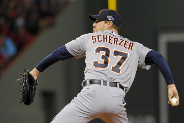 Report: D-Backs Have Interest in Re-Acquiring Max Scherzer
