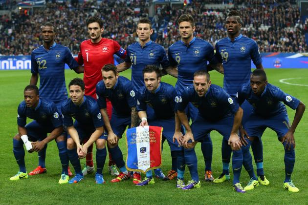 How France Will Line Up Against Ukraine