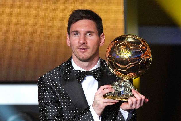 Lionel Messi's Brother Tweets Picture of Barcelona Star with Lots of Trophies