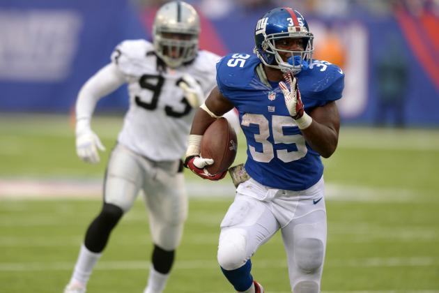 Andre Brown's Fantasy Football Outlook for Week 11 vs. Packers
