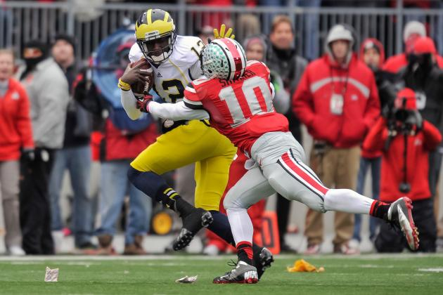 Ohio State LB Ryan Shazier Says He Runs a 4.35 40-Yard Dash
