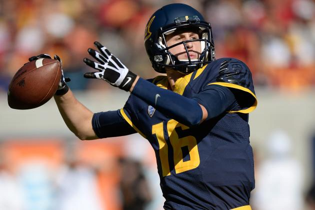 Cal Quarterback Jared Goff Sheds Superman Cape