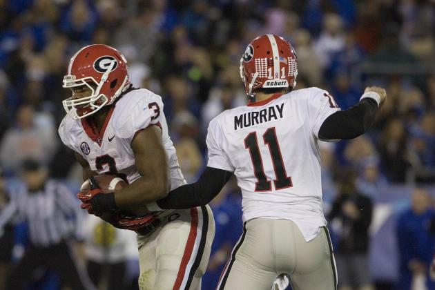 Is Todd Gurley's Legs or Aaron Murray's Arm the Bigger Threat vs. Auburn?