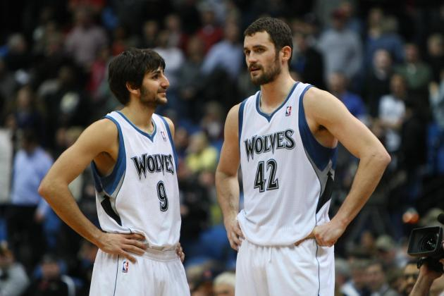 Is Ricky Rubio and Kevin Love the NBA's Next Great Duo?