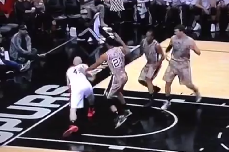 Washington Wizards' Marcin Gortat Attempts the 'Dream Shake,' Fails Miserably