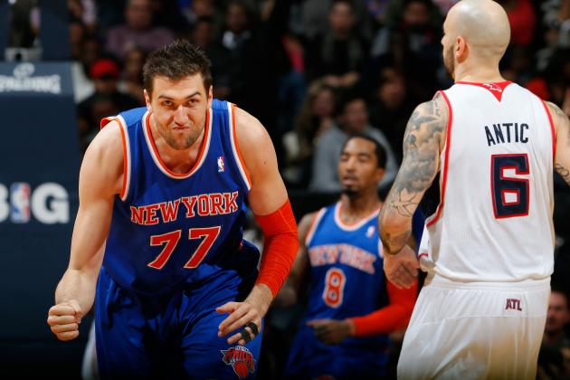 Rockets vs. Knicks: Bargnani and Prigioni Key to New York Landing Big Victory