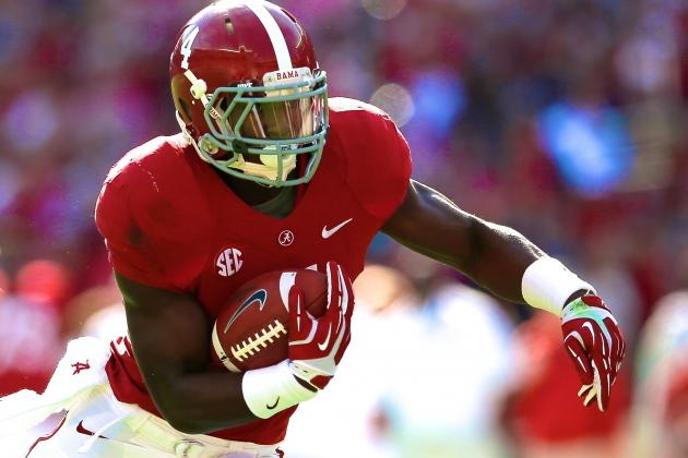 T.J. Yeldon Is Different, but He's Kept Up Tradition of Physical Alabama RBs