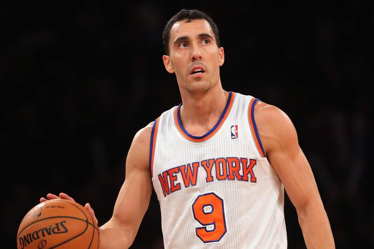 New York Knicks Guard Pablo Prigioni Posts 'Priggy Smalls' Photo of Himself