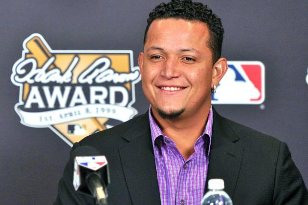Miguel Cabrera Wins American League MVP Award
