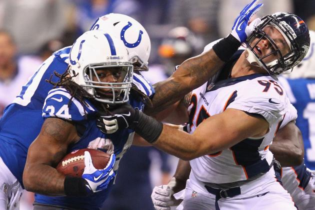Cleveland Browns Trade Trent Richardson to Indianapolis Colts for 1st-Round Pick