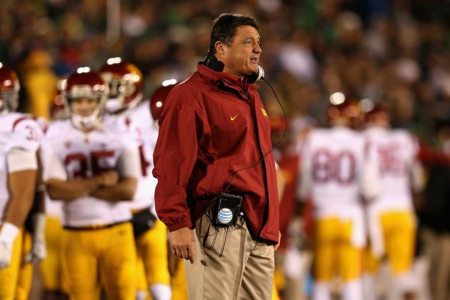 USC Football: The Stage Is Set for Coach Ed Orgeron to Earn Head Coaching Job
