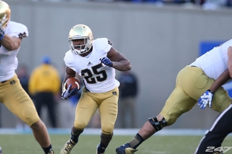 Notre Dame Football: Making the Case for Tarean Folston as Irish's No. 1 RB