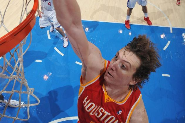 Omer Asik Does Not Look Happy About Being Passed over on Bench vs. Knicks