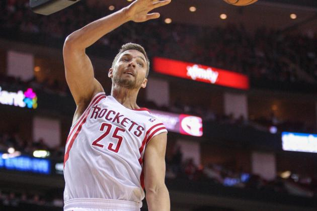Chandler Parsons Nasty Slam Dunk vs. Knicks