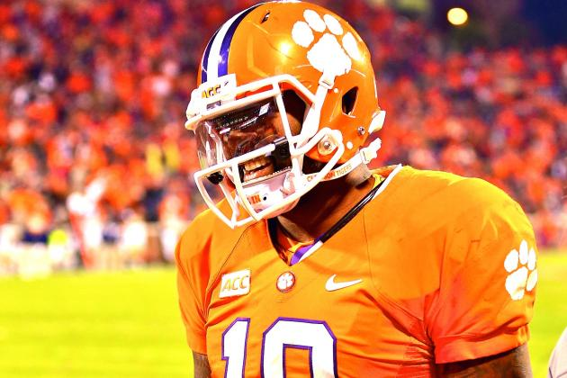 Tajh Boyd Injury: Updates on Clemson Star's Shoulder, Likely Return Date
