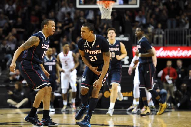 UConn Shows Depth with 101-55 Thrashing of Detroit