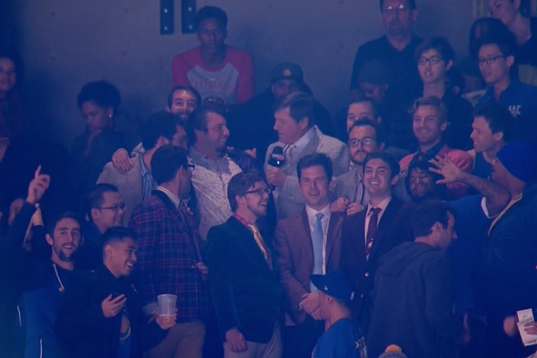 The Bleacher Report Crew Dresses Like Craig Sager at the Warriors-Thunder Game