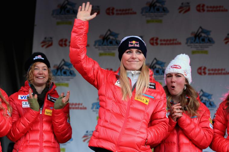 Lindsey Vonn's Year in Photos: A Retrospective of Olympian's Rehab for Sochi