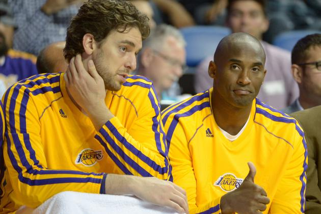 Kobe Bryant Writes Foreword in Pau Gasol's New Book Called 'Life-Vida'