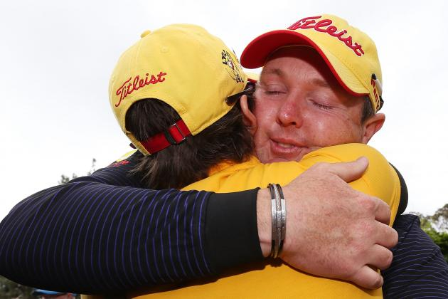 Jarrod Lyle's Inspirational Story Capped by Return to Australian Masters 2013