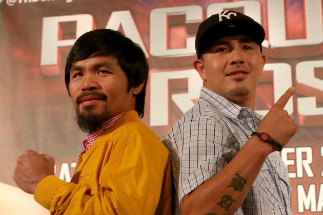 Pacquiao vs. Rios: Boxers' Styles Will Turn Fight into Scintillating Battle