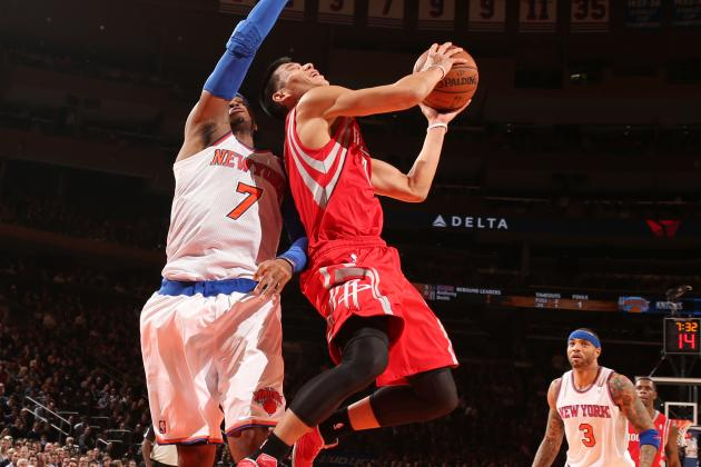 Lin Picks Up Third Win vs. Knicks  as Melo 3 Waved off