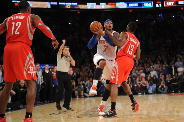 Carmelo Anthony, NY Knicks Trending in the Right Direction