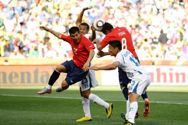 England Must Use Chile's Gary Medel and Arturo Vidal as Future Midfield Model