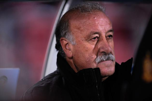 Vicente Del Bosque Signs New Spain Contract to Take Him Beyond World Cup