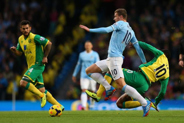 Manchester City Should Have No Fear Selling Edin Dzeko to Arsenal