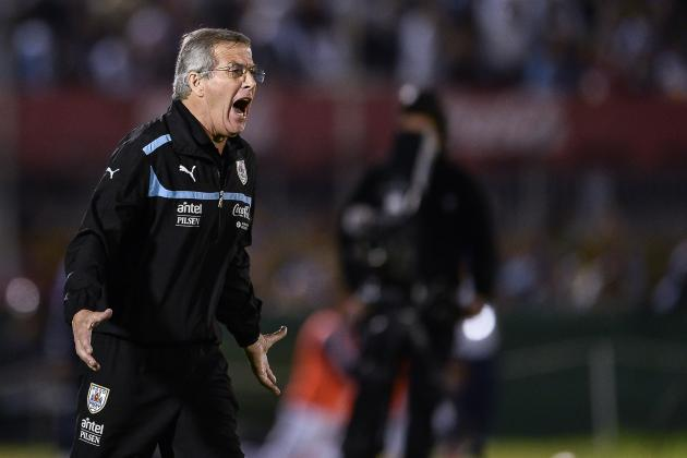 Oscar Tabarez More Important Than Luis Suarez and Edinson Cavani for Uruguay