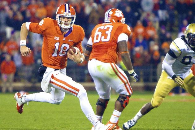 Tajh Boyd's Injury Scare vs. Georgia Tech Gives Glimpse at Tigers' Future at QB