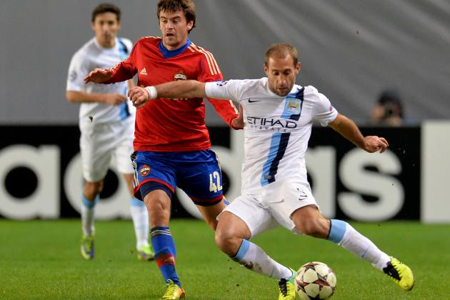 Man City's Pablo Zabaleta Has Risen Among the Best Full-Backs in Europe