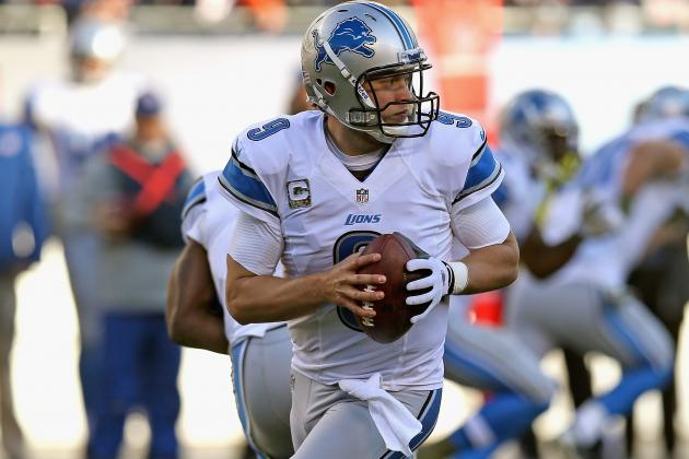 Detroit Lions' Matthew Stafford Wearing a Glove but Not Because of Injury