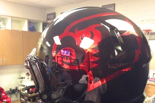 Louisville Introduces Black Chrome Helmets