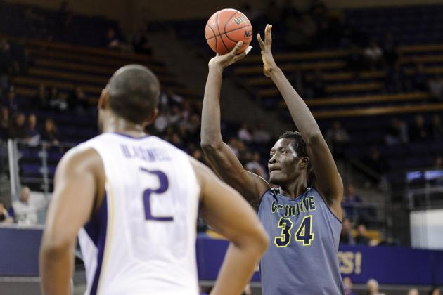 Ndiaye, the Nation's Tallest Player, Scored 18 Points to Lead UC Irvine to Win