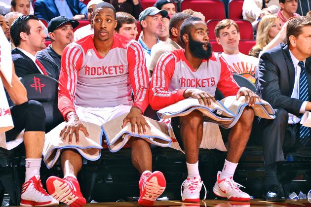 Dwight Howard, Houston Rockets Still Searching to Build Identity Together