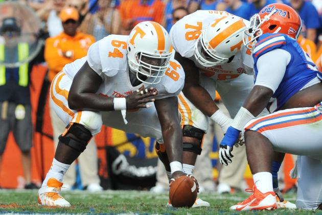 NFL Awaits, but Work Remains for Vols' Offensive Linemen