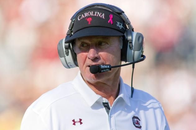 Coach Steve Spurrier Looks Ahead to Florida Game
